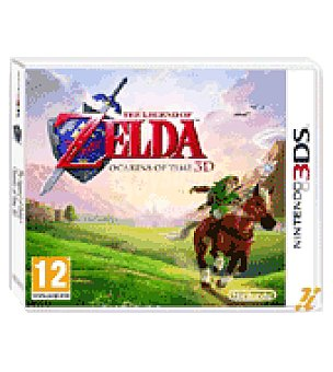 Nintendo Juego 3DS the legend of zelda: ocarina of time nintendo