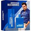 Esencia In Blue eau de toilette natural masculina spray 100 ml + deosodorante spray 150 ml spray 150 ml Bustamante
