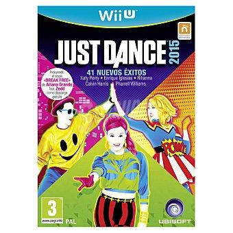 WII U Videojuego Just Dance 2015 1 Unidad