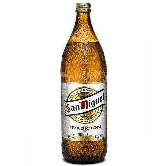 San Miguel Cerveza especial Botella 1 litro