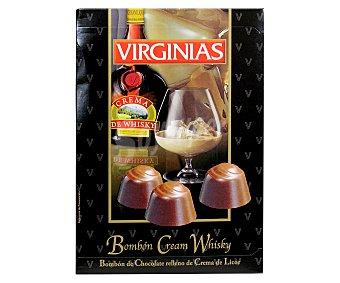 Virginias Bombón de chocolate relleno de crema de whisky 150 gramos