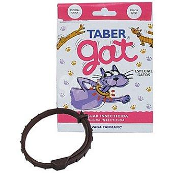 TABER GAT Collar insecticida para gatos 33 cm 1 unidad