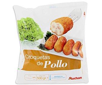 Auchan Croquetas de pollo 500 gramos