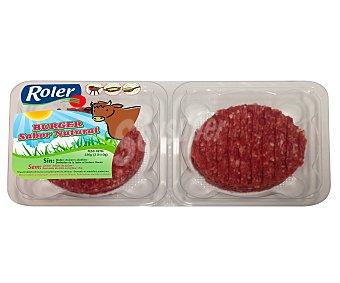Roler Burger meat de ternera con sabor natural 2 unidades de 110 gramos