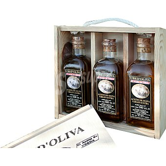 UBED'OLIVA aceite de oliva virgen extra pack 3 botellas 500 ml
