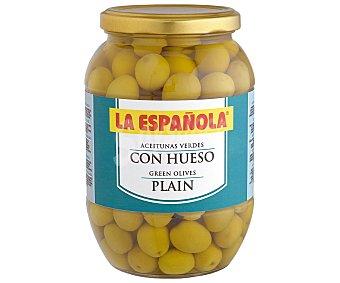 La Española Aceitunas verdes con hueso Tarro 500 g
