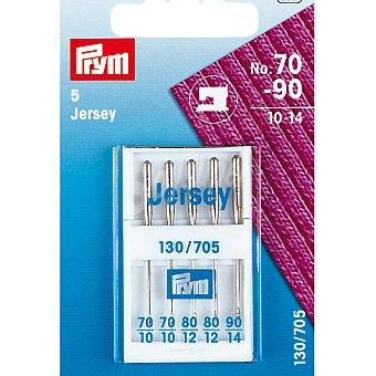 PRYM Jersey estuche 5 agujas para máquina de coser de los nº 10 al 14 1 unidad
