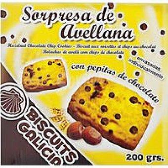 Biscuits Galicia Galleta sorpresa de avellana Caja 200 g