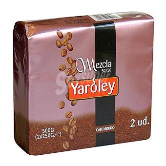 Yaroley Café molido mezcla 2 unidades de 250 g
