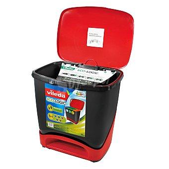 Vileda Cubo Basura especial Reciclaje 39 Litros 1 ud