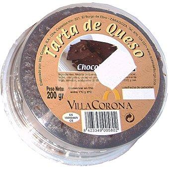 VILLACORONA Tarta de queso con chocolate Envase 200 g