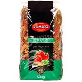 Pastas romero Espirales 3 sabores Paquete 500 g