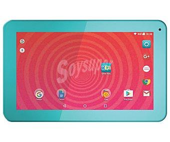 """Qilive Tablets para niños con pantalla de 9"""" azul, procesador: Quad Core, Ram: 1GB, almacenamiento: 8GB ampliable mediante tarjeta microsd, resolución: 800 x 480px, cámara frontal, Android 5.1 M9526L"""