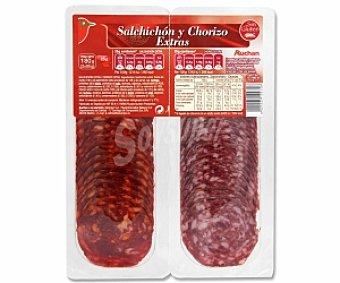 Auchan Salchichón y Chorizo Extra 180 Gramos