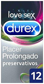 Durex Preservativo performa (con efecto retardante) Paquete de 12 uds