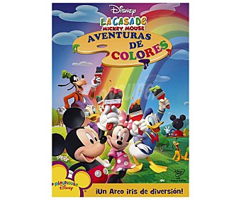 ANIMACIÓN Película en Dvd La casa de Mickey Mouse 8: Aventuras de colores. Género: infantil, preescolar, animación. Edad: TP