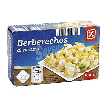 DIA Berberechos al natural 45/55 piezas Lata 63 gr