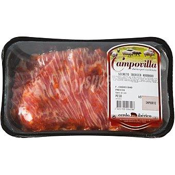 CAMPOVILLA Secreto de cerdo ibérico  Bandeja de 400 g peso aproximado