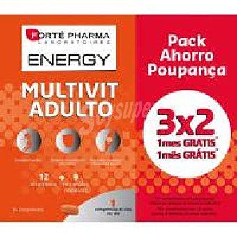 Forte Pharma Energy multivit para adulto Caja 84 c