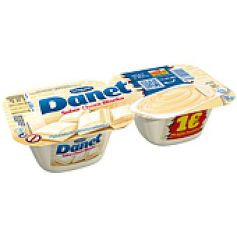 Danet Danone Natillas chocolate blanco 2 UNI