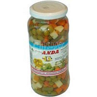El Niño Macedonía de verduras Tarro 550 g