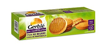 Gerblé Galleta con mantequilla sin gluten Caja 175 g