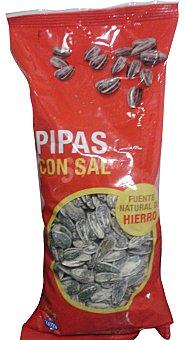 Hacendado Pipas con sal Paquete 200 g