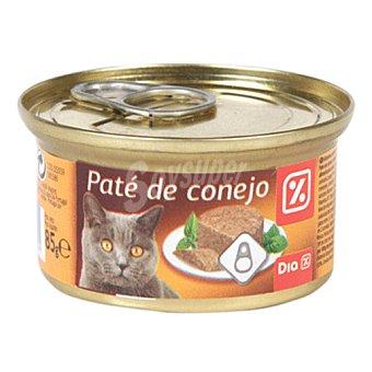 DIA Alimento para gatos pate conejo lata 85g Lata 85g