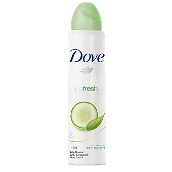 Dove Desodorante Fresh Touch sin alcohol Spray 200 ml