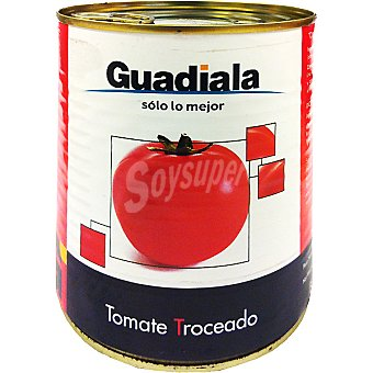 Guadiala Tomate troceado Lata 800 g
