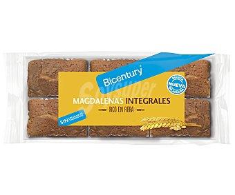 Bicentury Magdalenas integrales sin azúcares añadidos 195 gramos
