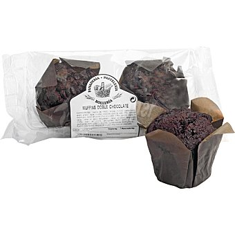Muffins doble chocolate Bolsa 2 unidades