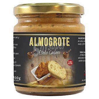 Flor valsequillo Almogrote tradicional elaborado con queso curado de cabra sin gluten de la Gomera Tarro 200 g