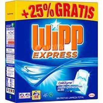 Wipp Express Detergente máquina polvo Maleta 44+11 dosis