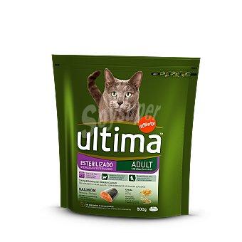 Ultima Affinity Alimento de salmón gato esterilizado Paquete 800 g