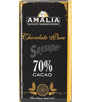 Amalia Chocolate 70% puro 150 g