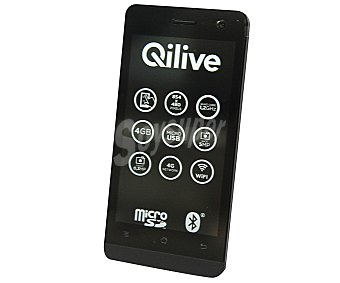 QILIVE 4.5'' 4G Q.4725 Smartphone libre