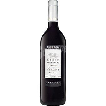 Joan Sarda Vino tinto cabernet sauvignon crianza D.O. Penedés Botella 75 cl