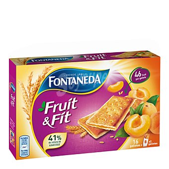 Fontaneda Barritas de fruta y fibra 197 g