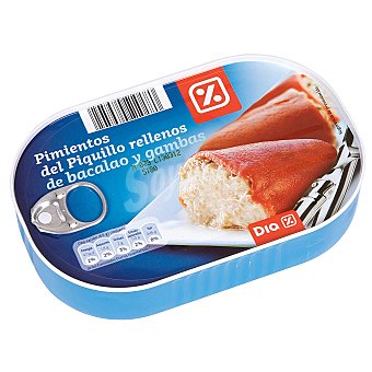 DIA Pimient rellenos bacalao & gambas Lata 260GR