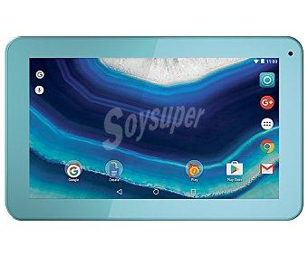 "Qilive Tablet 9"" Q7 M9526L azul, Quad-Core, 1GB Ram, 8GB, microsd, cámara frontal, Android 5.1"