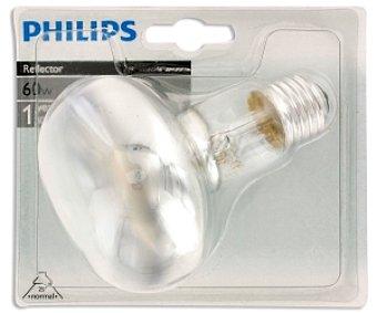 Philips Bombilla reflectora R80 60W, casquillo E27 1 Unidad