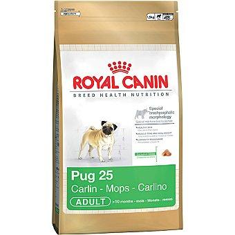 ROYAL CANIN ADULT Pug alimento completo especial para perros de raza pug desde los 10 meses Bolsa 15 kg