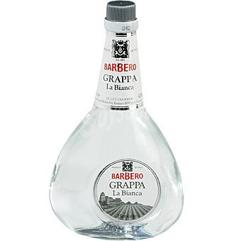 BARBERO Grappa La Bianca botella 70 cl Botella 70 cl