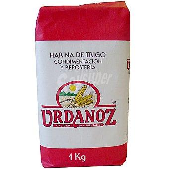 Urdanoz Harina de trigo para condimentacion y reposteria paquete 1 kg Paquete 1 kg