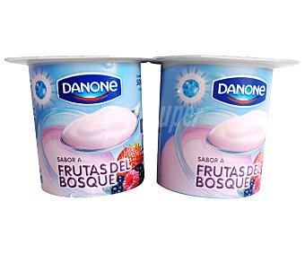 Danone Yogur sabor Frutas del Bosque 4 Unidades de 125 Gramos