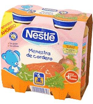 Nestlé Tarrito de menestra de cordero Pack de 2x250 g