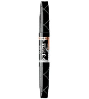 Astor Máscara negro 2 cepillos para máxima longitud, volumen extremo y efecto pestañas postizas -máscara 3 style ultrablack (multi-efect mascara) nº910 1 ud