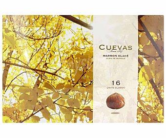 Cuevas Marron glacé (castañas cubiertas de chocolate) 300 gramos