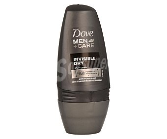Dove Desodorante roll-on antitranspirante para hombre (sin alcohol) 50 mililitros